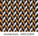 geometric triangle pattern with ... | Shutterstock .eps vector #630111854