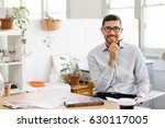 young man in offfice | Shutterstock . vector #630117005