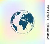 globe vector icon | Shutterstock .eps vector #630151661
