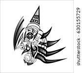 art graphics sketch  tattoo... | Shutterstock .eps vector #630155729