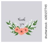 universal greeting card with a... | Shutterstock .eps vector #630157745