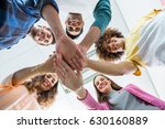 team of smiling executives... | Shutterstock . vector #630160889