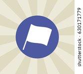 flag icon. sign design.... | Shutterstock .eps vector #630171779