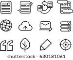 icon set for web designing