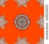 vector illustration. seamless... | Shutterstock .eps vector #630203051