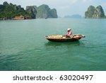 Fishing Vessels In Ha Long Bay...