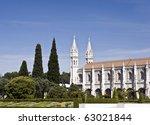 Jeronimos Monastery - stock photo