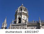 Jeronimos Monastery - stock photo