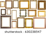 assortment of golden and... | Shutterstock . vector #630238547