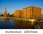 evening light at albert dock ...