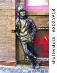 Постер, плакат: Statue of John Lennon