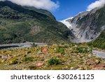 walk to franz josef glacier  | Shutterstock . vector #630261125