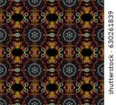 decorative symmetry arabesque.... | Shutterstock . vector #630261839