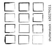 rectangular frame vector | Shutterstock .eps vector #630279311