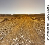 rocky hills of the negev desert ... | Shutterstock . vector #630282251