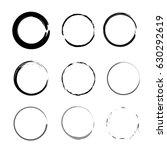frames round vector | Shutterstock .eps vector #630292619