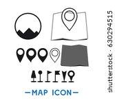 map icon logo vector template | Shutterstock .eps vector #630294515