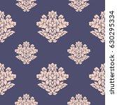 damask seamless pattern...   Shutterstock .eps vector #630295334