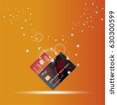 global digital communications.... | Shutterstock .eps vector #630300599