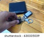hurry car key | Shutterstock . vector #630335039