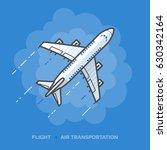 flat illustration of white... | Shutterstock . vector #630342164