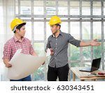 architect and engineer on... | Shutterstock . vector #630343451