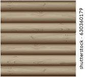 Vector Wooden Logs.