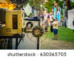 the old analog rotary film... | Shutterstock . vector #630365705