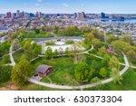 view of riverside park  in... | Shutterstock . vector #630373304
