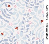 seamless pattern with different ... | Shutterstock .eps vector #630384899