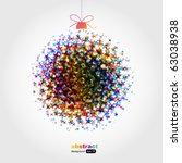 xmas      ball | Shutterstock .eps vector #63038938