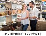portrait of smiling family... | Shutterstock . vector #630404354