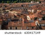 roofs of lucca  italy | Shutterstock . vector #630417149