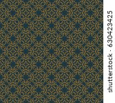vintage pattern graphic design | Shutterstock .eps vector #630423425