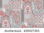 seamless traditional design | Shutterstock . vector #630427301
