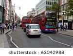 london   september 20  traffic... | Shutterstock . vector #63042988