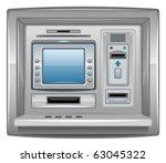 atm | Shutterstock .eps vector #63045322