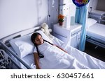 patient resting in ward at... | Shutterstock . vector #630457661