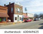 small town main street usa... | Shutterstock . vector #630469625