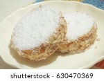 cookies with custard and... | Shutterstock . vector #630470369