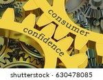 consumer confidence concept on...   Shutterstock . vector #630478085