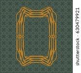 art nouveau elegant smooth...   Shutterstock .eps vector #630479921