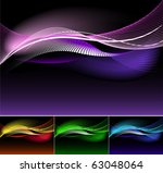 abstract waves. | Shutterstock .eps vector #63048064