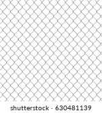 seamless chain link fence... | Shutterstock .eps vector #630481139