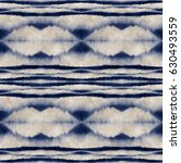 abstract indigo shibori motif.... | Shutterstock . vector #630493559