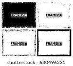 grunge frame texture set  ...   Shutterstock .eps vector #630496235