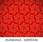 christmas red background ... | Shutterstock .eps vector #63050236