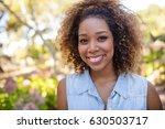 portrait of smiling woman... | Shutterstock . vector #630503717
