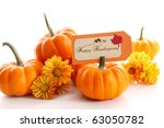 Small Pumpkins With...