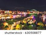 vivid sydney light show and... | Shutterstock . vector #630508877